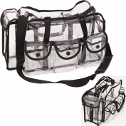 Clear Makeup Cosmetics Travel Shoulder Bag Case Storage Organiser Accessories