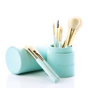 Beauty Artisan 8pcs Professional Makeup Brush Set Silky Soft Cosmetics Brushes Kit for Smooth Makeup Application