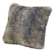 HiEnd Accents Faux Chinchilla Pillow