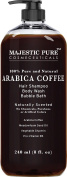 Arabica Coffee Shampoo & Body Wash, Organic Ingredients, 100% Natural & Pure, Anti Hair Loss, Restore Hair Growth, Manageable Hair, 240ml