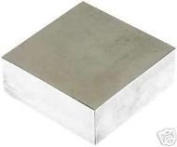 """Jewellers Tools 100 MM Square Solid Steel Hardened Doming Dapping Bench Block 4"""" X 4"""" X 3/4"""" Tool"""