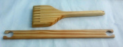 Tapestry Beater and 30cm weaving stick shuttles