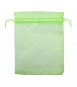 SUNGULF 100pcs Organza Pouch Bag Drawstring 10cm x 13cm Strong Gift Candy Bag Jewellery Party Wedding Favour