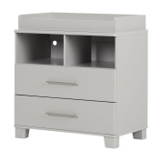 South Shore Cuddly Changing Table, Soft Grey