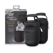 Insulated Bottle Bag, 2-Count by Tommee Tippee