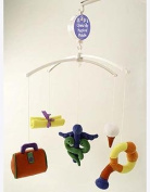Future Doctor Musical Baby Mobile with Brahms Lullaby