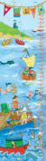 Oopsy Daisy by The Sea Boy by Sharon Furner Growth Charts, 30cm by 110cm