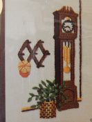 Jiffy Stitchery Grandfather Clock Embroidery Kit 385