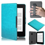 For Amazon Kindle Paperwhite 5, Ikevan Ultra Slim Leather Smart Case Cover for Amazon Kindle Paperwhite 5