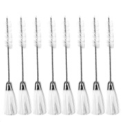 Honbay Sewing Machine Cleaning Brush, Double-Ended Brush Bristles, Pack of 8