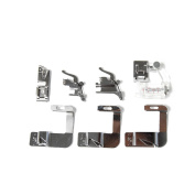 7 Pieces Bias Tape and Rolled Hem Presser Foot Fit Most Janome,Brother,Singer and Universal Low and High Shank
