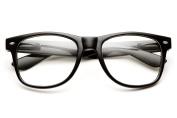 Computer Glasses Eye Strain Relief - Clear Lens Wayfarer - Blue Light Blocking Glasses - Anti Glare - Gaming