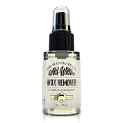 Wild Willie's Wax Remover, Remove Beard and Moustache Wax Gently with Wild Willie's Wax Remover 60ml