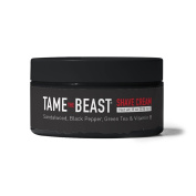 Tame the Beast Shave Cream with Sandalwood, Black Pepper, Green Tea & Vitamin B