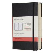 Moleskine 12 Month Daily Planner, Pocket, Black, Hard Cover