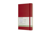 Moleskine 12 Month Weekly Planner, Large, Scarlet Red, Hard Cover