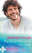 The Boss Who Stole Her Heart  [Large Print]