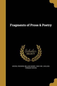 Fragments of Prose & Poetry