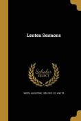 Lenten Sermons