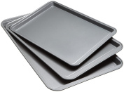 Good Cook 04322 Non-Stick Cookie Sheet , Set Of 3 , 19.6 x 32cm x 17cm