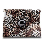 TOPCHANCES Modern Smart Cover Case for iPad 2 3 4 with Auto Sleep/Wake Function and 360 Degree Rotating Stand-