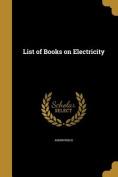 List of Books on Electricity
