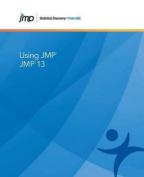 Using Jmp 13