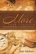 More Than Devotion