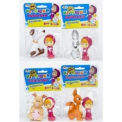 "KIT FOR SWIMMING ""play along"" Masha and the Bear with animals"