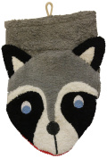 Wash Mitt Raccoon Puppet by Furnis Large