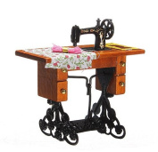 New Vintage Miniature Sewing Machine Furniture Toys House for Barbie Doll House Decor Retro Children Toys Accessories