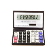 Business /Financial/ student / Folding Calculator with 12-digits Large Display,Solar and AA5 Battery Dual Power