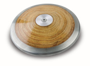Corona. Official competition weight and size 1 kilo wood laminate track & field discus