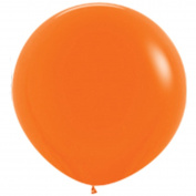 90cm Giant Round Orange Latex Balloons (Premium Helium Quality) Pkg/10 by TUFTEX