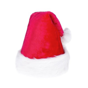 Idealgo Plush Christmas Santa Hat Merry Christmas Hat Party Supplies for Adults