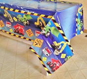 Construction Party Decoration Tablecover