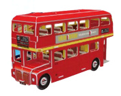 Creative Double-Decker Bus Jigsaw Puzzle For Children Toys Stereo Jigsaw