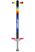 New Bounce, Easy Grip Silicone Ring Sport Pogo Stick for Ages 5-9 - Weighing 18-36kg