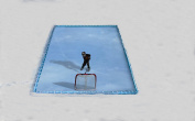 4.6m x 7.3m Inflatable Backyard Ice Rink