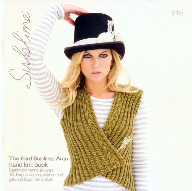 The Third Aran Hand Knit Book #615 by Sublime