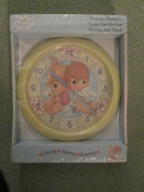 """Precious Moments """"Love One Another"""" Nursery Wall Clock"""