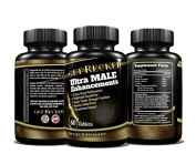 Ultra Male Enhancements - Most Effective Natural Performance - Pure Maca Root - Ginseng - L-Arginine & Tongkat Ali Guaranteed and Made in the USA