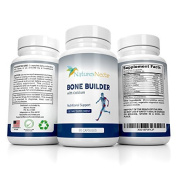 Bone Builder Supplement For Increased Health + Growth of Bones - Formulated To Fight Osteoporosis With Vitamins And Minerals Plus Calcium + Joint Support For Women - High Absorption Formula - 90 count