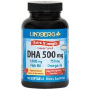 Lindberg DHA 500 mg Enteric Coated 90 Softgels