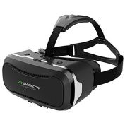 3D VR Headset, VersionTech 2nd 360° Viewing Immersive Virtual Reality VR Glasses Goggle Box for 3D Movies Video Games, Compatible with iPhone 7 Plus/ 6s Plus for Samsung Series and Other Smartphone Device