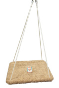 Platform Swing - Special Need Therapy Use - Hand-Crafted from 100% Baltic Birch - Carpeted - 80cm X 80cm