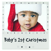 Baby's First Christmas Silver colour Picture Baby Photo Frame Novelty Gifts 1st Xmas