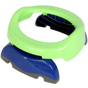 Potette Plus Travel Potty/Toilet Reducer (Green/Blue