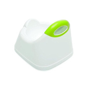 The Neat Nursery Co Training Potty, White/Lime