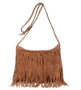 Yisidoo Woman Tassel Suede Messenger Handbag Girl¡¯s Shoulder Bag
